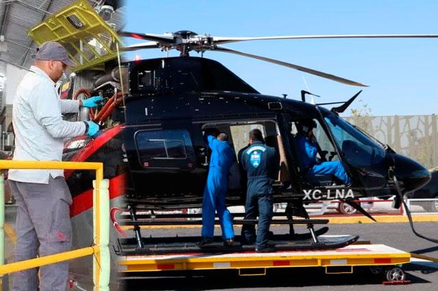 A la venta, helicópteros que compraron Marín y RMV