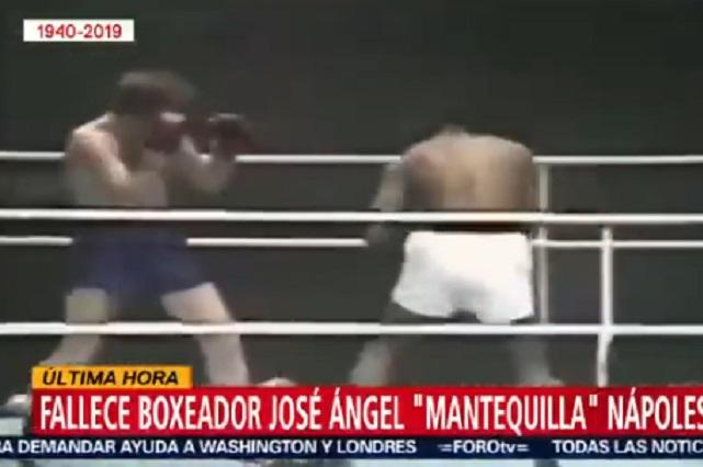 Muere exboxeador Mantequilla Nápoles a los 79 años de edad
