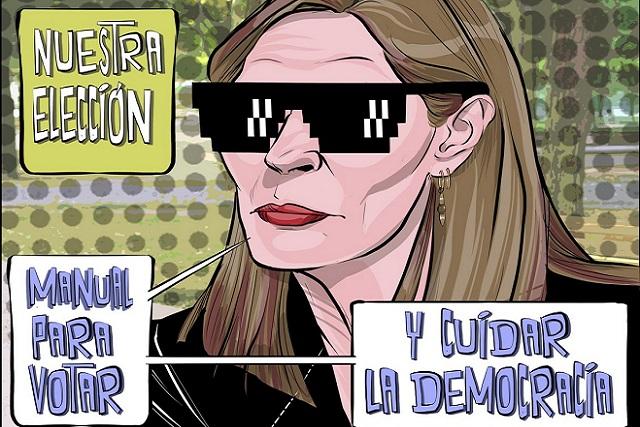 """Tatiana Clouthier lanza """"Manual para cuidar el voto"""""""