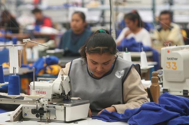 Repunta 4.4% empleo en sector manufacturero poblano