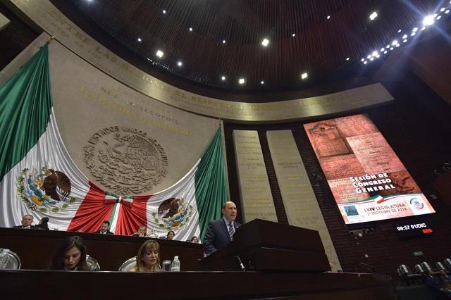 Puebla, séptimo estado más pobre, dice Manzanilla en la Cámara baja