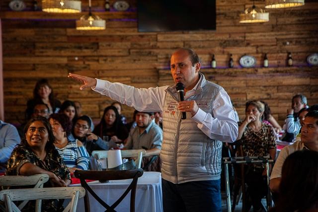 Seguridad en Puebla se deteriora desde hace 4 años: Manzanilla