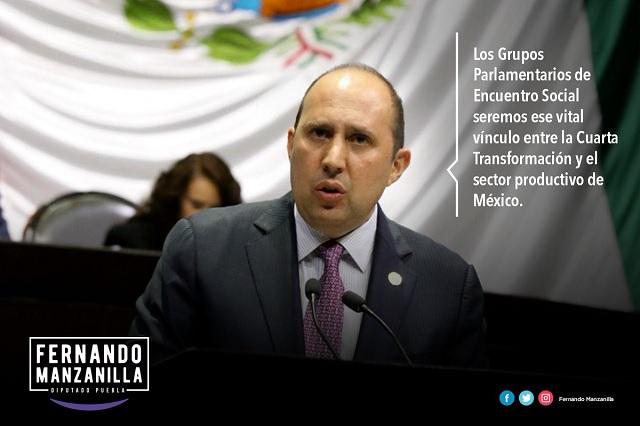 Manzanilla afirma que el PES será enlace entre la IP y la 4T