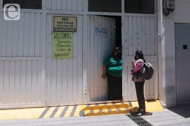 Les descuentan si faltan por vacuna en maquila de Tehuacán