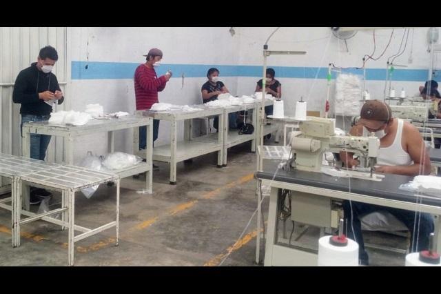 Maquiladoras de Tehuacán cierran sus puertas por Covid.19