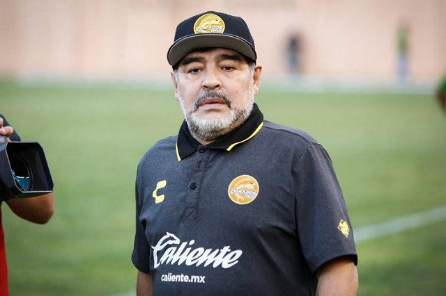 Llegó el patrón, dice Maradona en su regreso