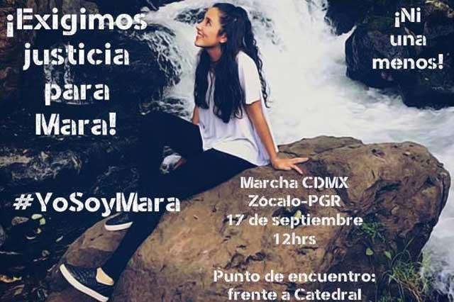 México marchará por Mara y para gritar #NiUnaMenos