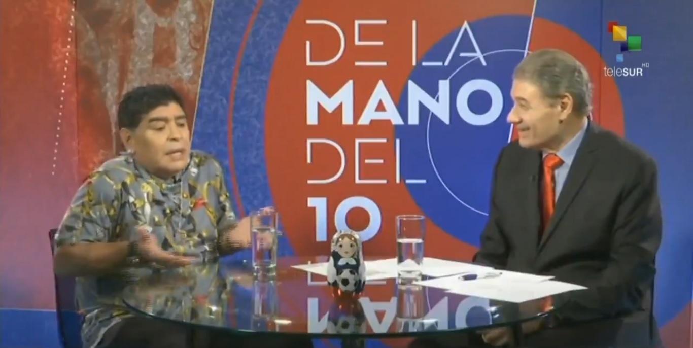 Maradona dice que México no merece el Mundial 2026