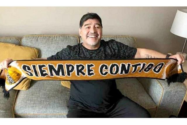 Que en Culiacán no quieren de vecino a Maradona