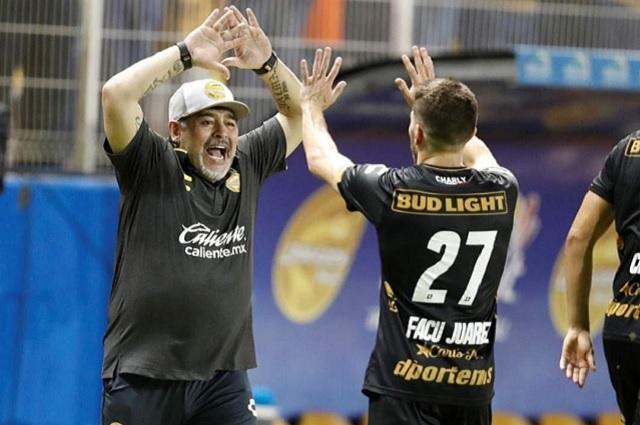 Maradona y Dorados golean a un pésimo Cafetaleros