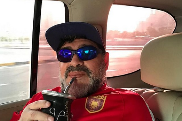 Foto / Instagram / Maradona