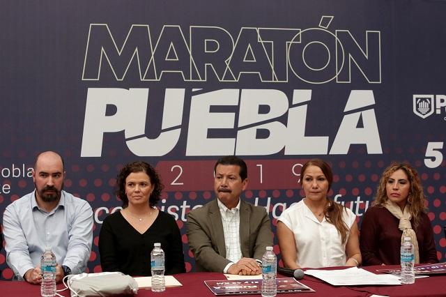 Promete el Maratón de Puebla 2019