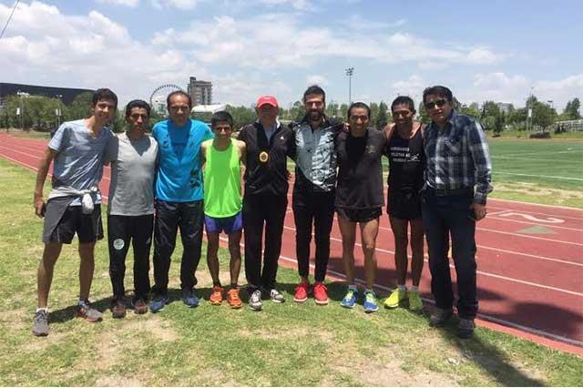 Cierra en Puebla su preparación selección peruana de maratón