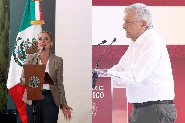AMLO y Beatriz Gutiérrez buscan ser marcas registradas
