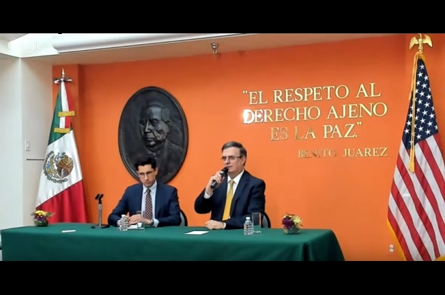 Primera reunión México-EU termina sin acuerdos sobre aranceles