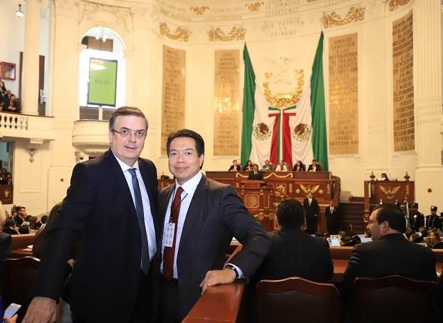 Avala Senado en comisiones a Ebrard y va como secretario de Relaciones Exteriores