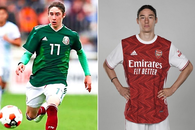 Llaman a Marcelo Flores para entrenar con primer equipo del Arsenal