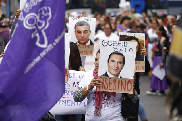 Colectivo MA.CHO. realizará performance en contra de los feminicidios en Puebla