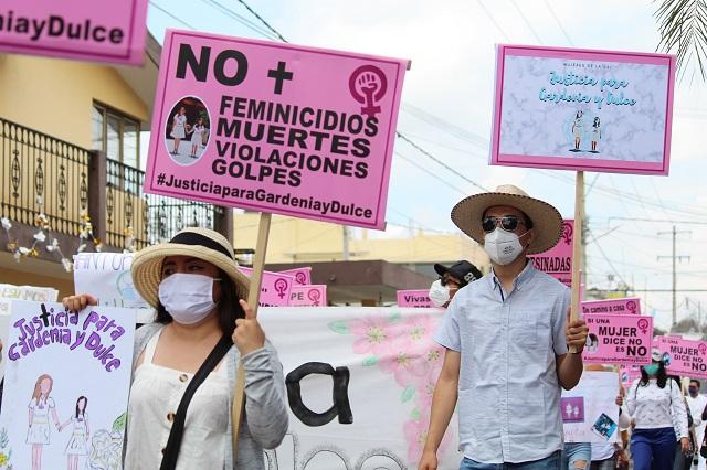 Indagar como feminicidios casos en Tilapa y Tepeaca, exige CNDH
