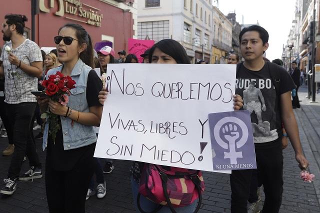 En Marcha por todas piden un alto a la violencia del país