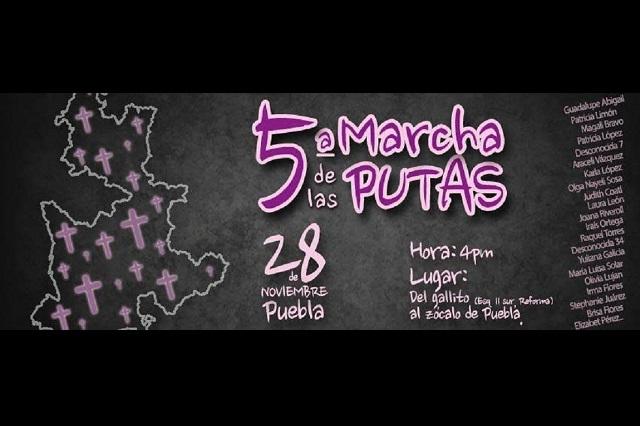 La Marcha de las putas: mujeres contra la violencia y acoso sexual