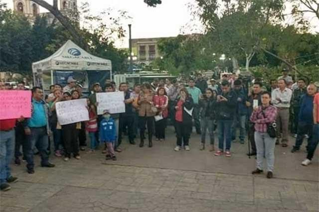 Marcharán maestros de Tehuacán contra el gasolinazo
