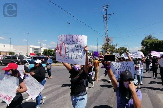 Marchan otra vez mujeres en Tehuacán, exigen justicia para Suri