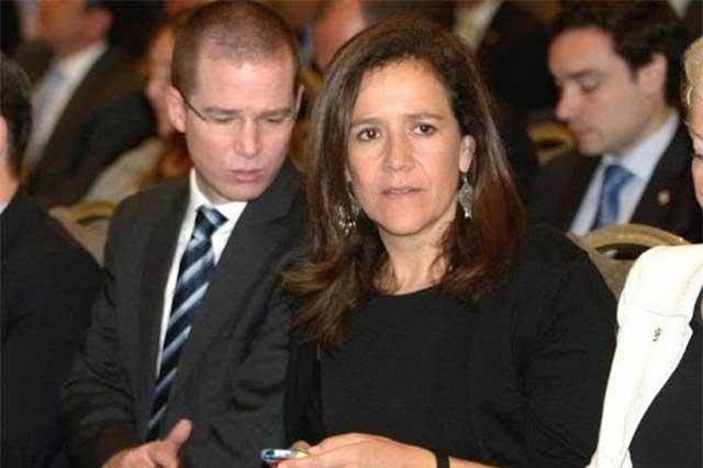 Margarita Zavala precisa que no pidió la renuncia de Ricardo Anaya