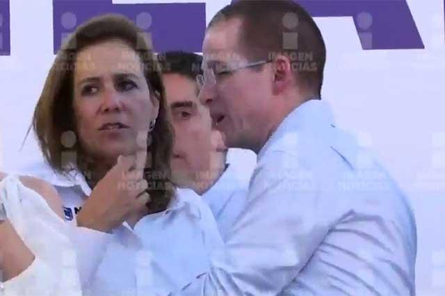 Rechaza Margarita que haya discutido en Coahuila con Ricardo Anaya