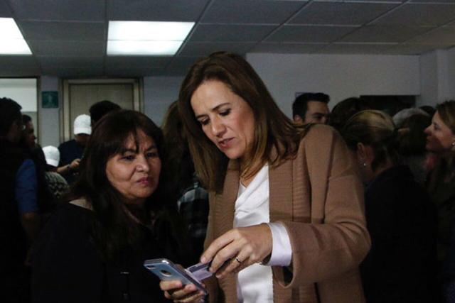Margarita afirma que no compró ni una firma para obtener la candidatura