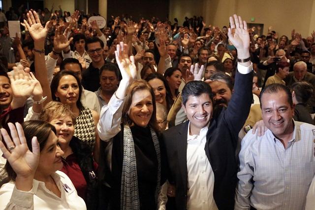 Lamenta Margarita Zavala ataque a Rivera Pérez y le expresa apoyo