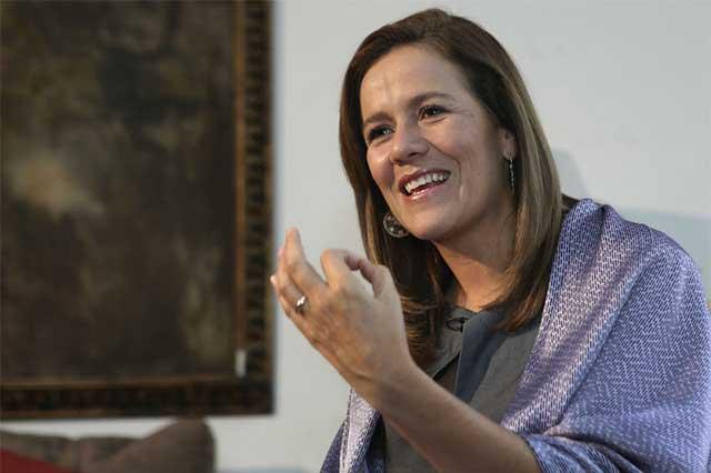 Ahora sí viene Margarita Zavala a encuentro con simpatizantes
