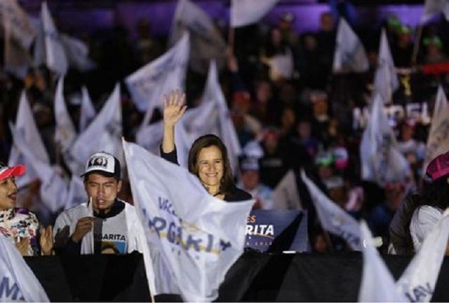 Margarita inicia su campaña, pero el INE aún no avala su candidatura