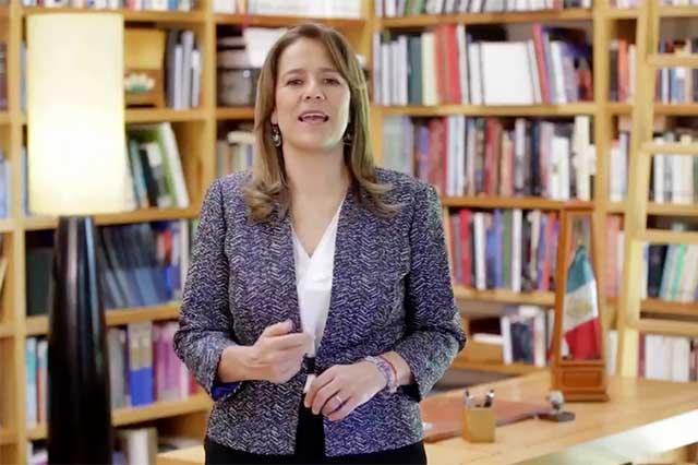 Margarita anuncia que se registrará el jueves cono candidata independiente