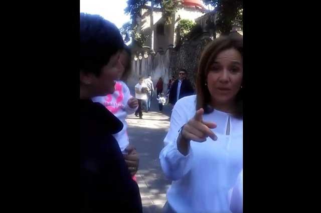 Margarita reconoce que debió haber permitido grabar plática con pareja gay