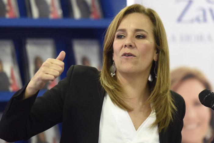 Margarita Zavala dice que ella es la candidata del pueblo