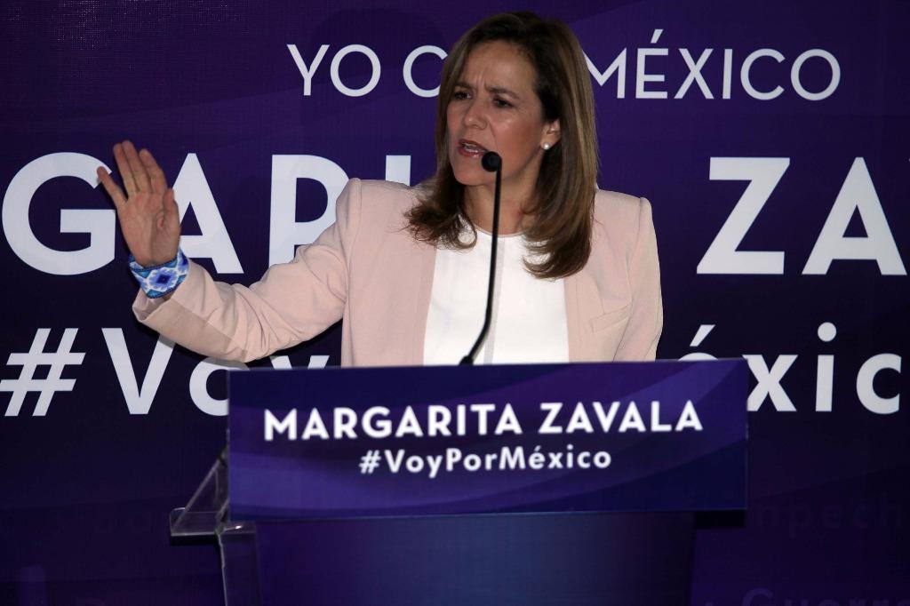 Margarita Zavala revela que votará por Ricardo Anaya