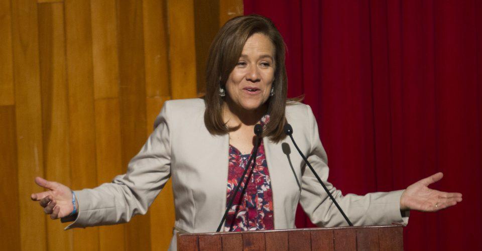 Desmiente Margarita Zavala que vaya a votar por Ricardo Anaya