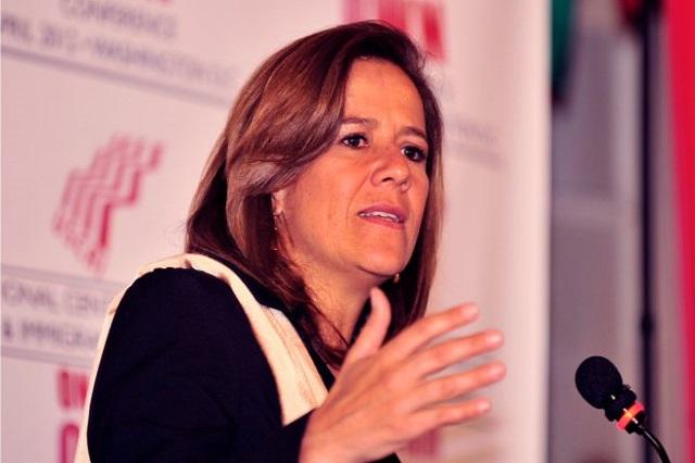 Operarán de urgencia a Margarita Zavala por desprendimiento de retina