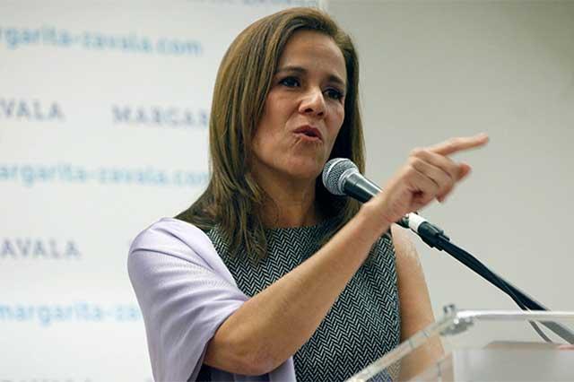 Margarita califica de enorme torpeza el despido del fiscal de la Fepade