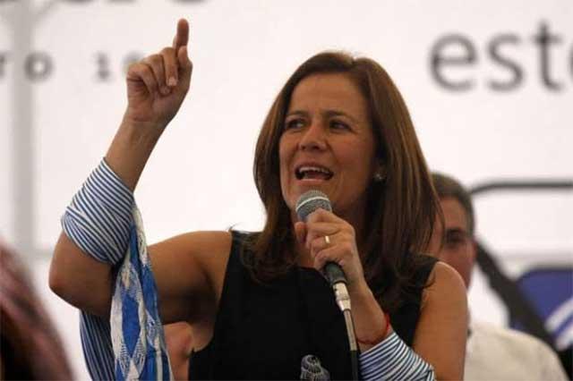 La ciudadanía quiere que yo sea candidata del PAN, dice Margarita