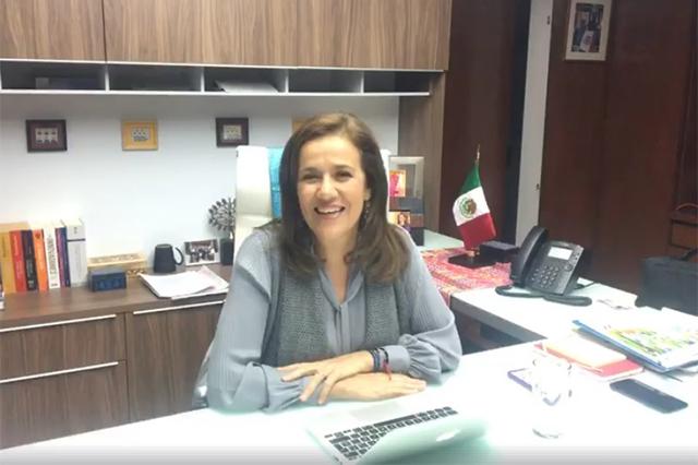 Margarita Zavala critica que AMLO amenace con tigres