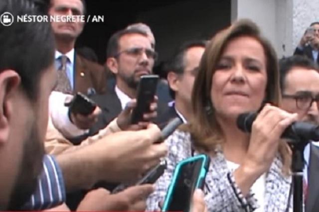 Margarita Zavala formaliza en el INE su intención de crear un partido político