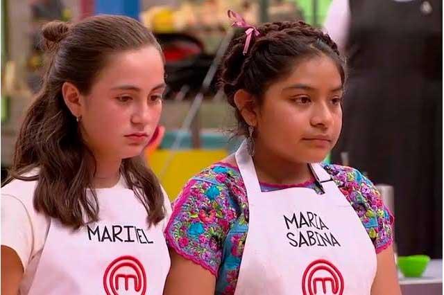 MasterChef Junior: Marivel fue luz y sombra, María Sabina sale del reality