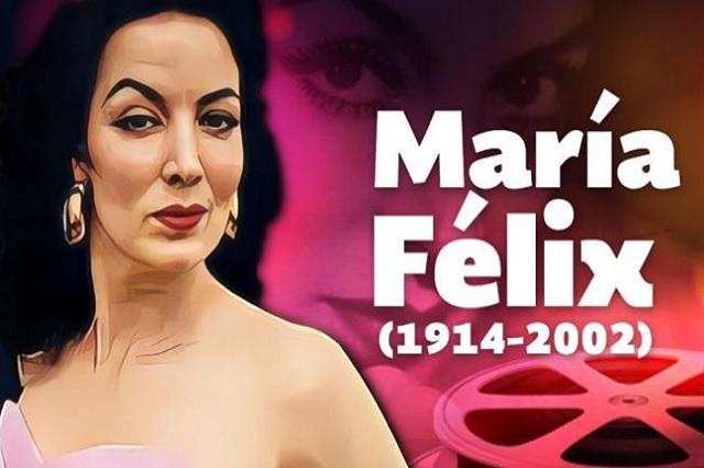 María Félix se casó 4 veces y sostuvo una relación lésbica
