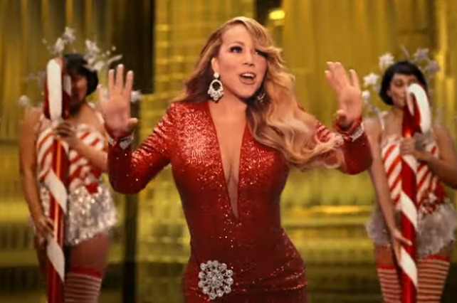 "Mariah Carey celebra 25 años del tema ""All I Want for Christmas Is You"""