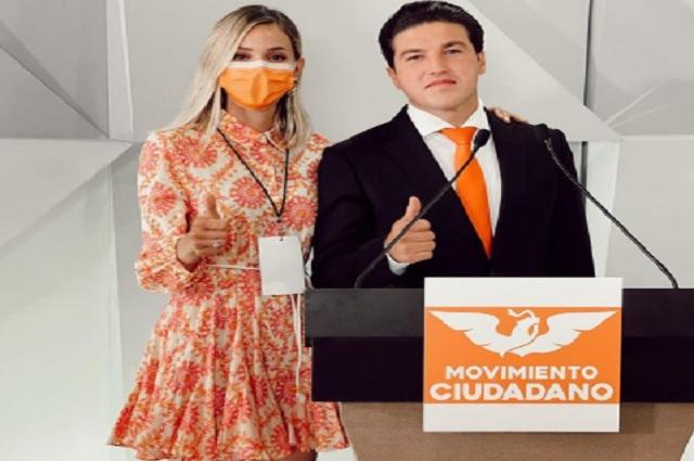 Mariana Rodríguez celebra revocación de multa a Samuel García
