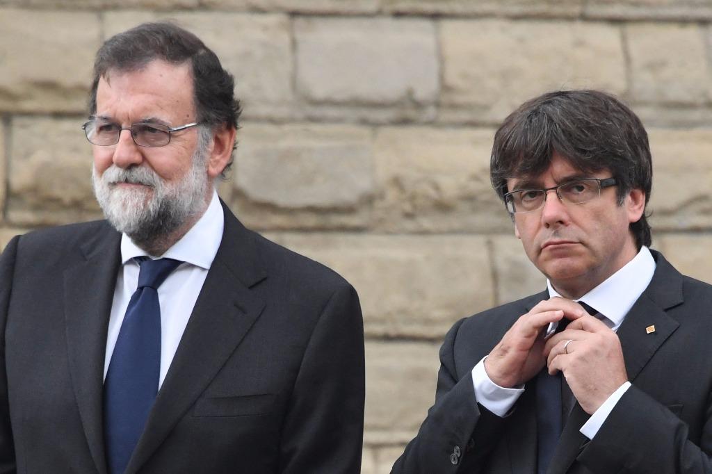 España propone cesar Carles Puigdemont, presidente de Cataluña