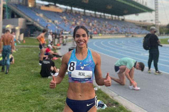 Mariela Real supera marca de Ana Gabriela Guevara en los 800 metros