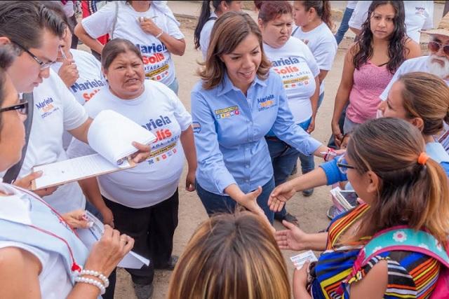 Participación ciudadana será determinante, asegura Mariela Solís